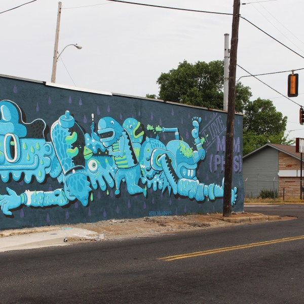 I Love Memphis Mural – Broad Avenue
