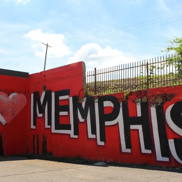I Love Memphis Mural, Cooper-Young