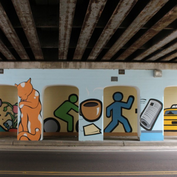 Central Ave and S McLean Blvd Mural