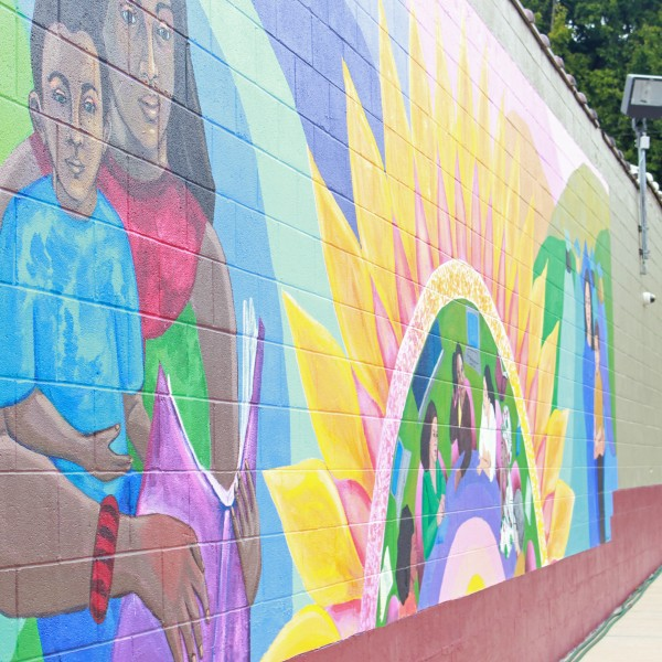 De Neuville Mural Partnership Project