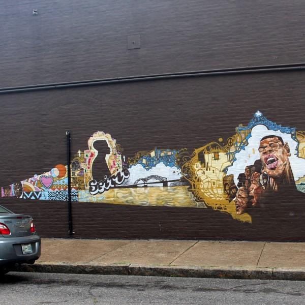 Beignet Cafe Mural