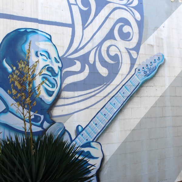"I Love Memphis Mural, ""St. Blues"""