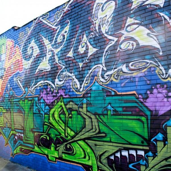 Club 10 Mural