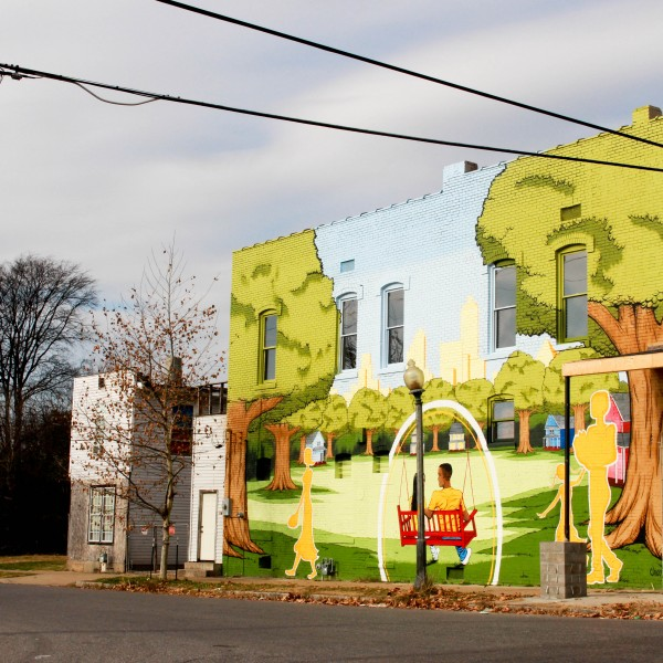Urban LIFT mural
