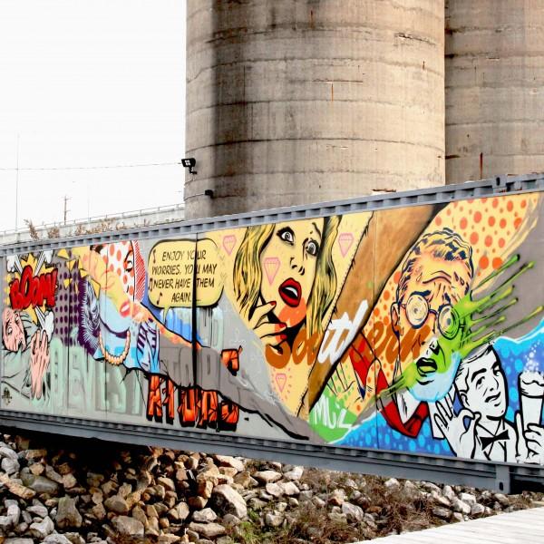 Wiseacre Brewery Mural 1