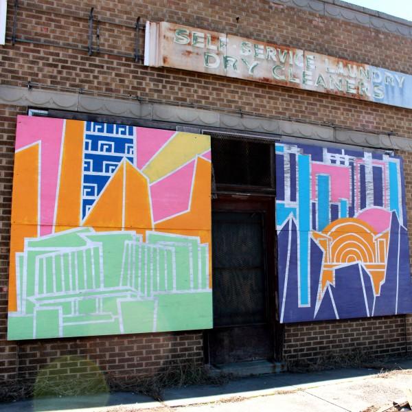 MIFA Paint Day Murals