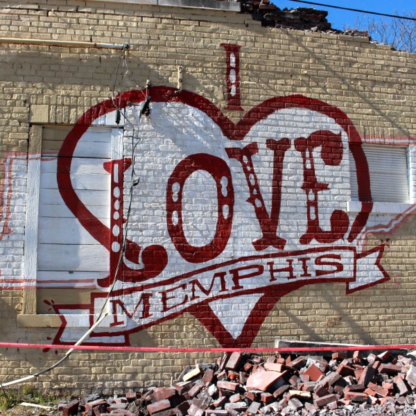 I Love Memphis Mural – Vance and Allen
