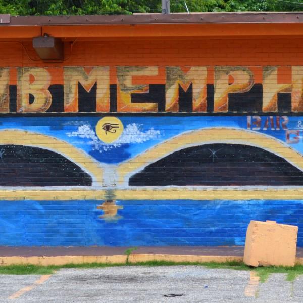 Club Memphis mural