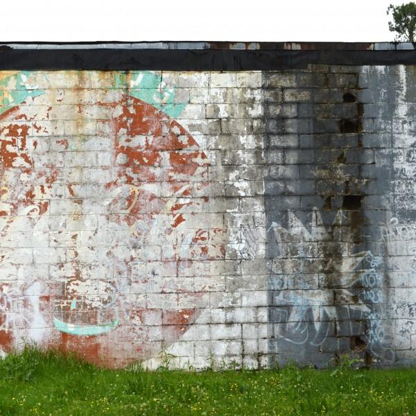 Coke ad / Go Tigers mural