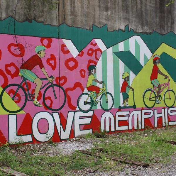 I Love Memphis Mural- Greenline