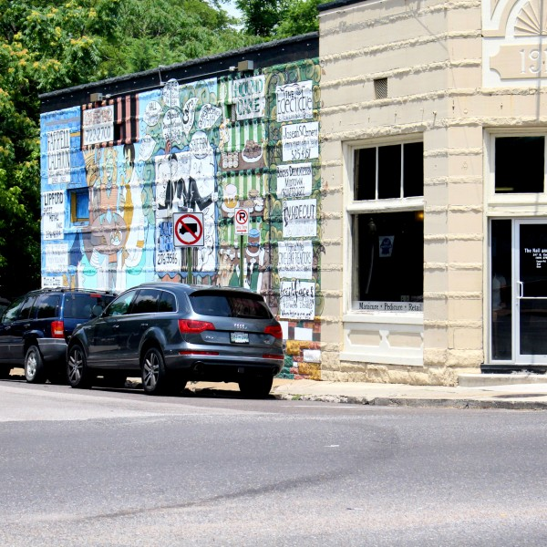 Cooper-Young Businesses Mural