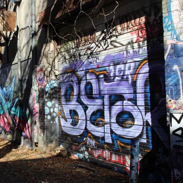 Graffiti Alley- Marshall and Madison