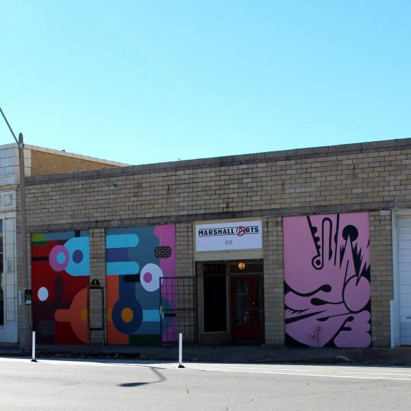 Marshall Arts Entrance