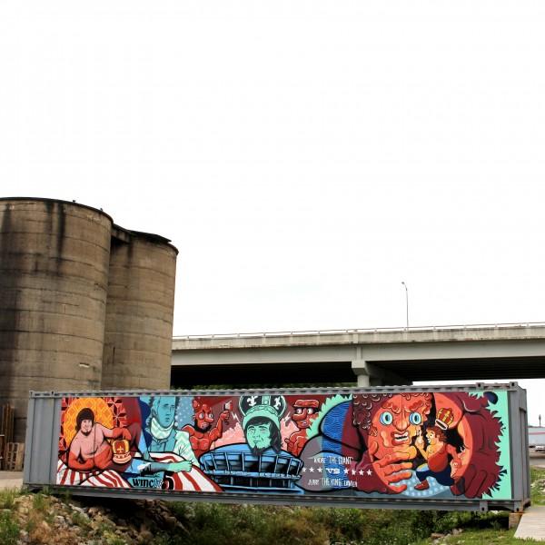 Wiseacre Brewery Mural 2
