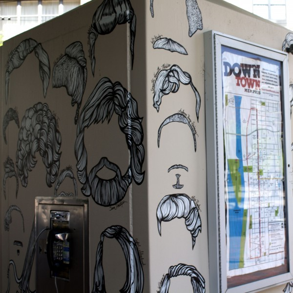 Famous Memphis Hair Phone Box