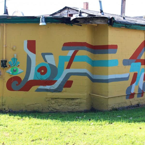 I Love Memphis Mural – E McLemore Ave