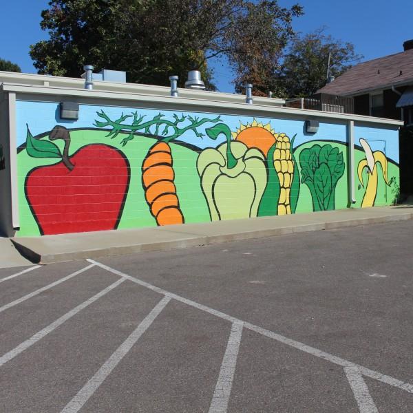 South Memphis Farmer's Market mural