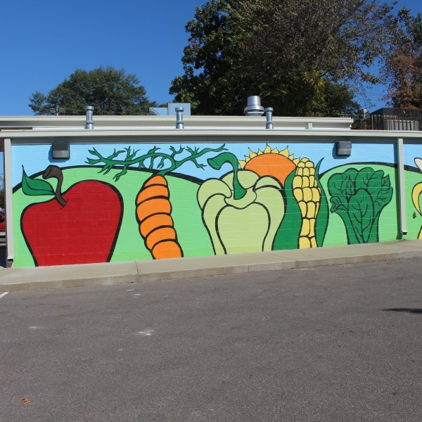 South Memphis Farmer's Market mural