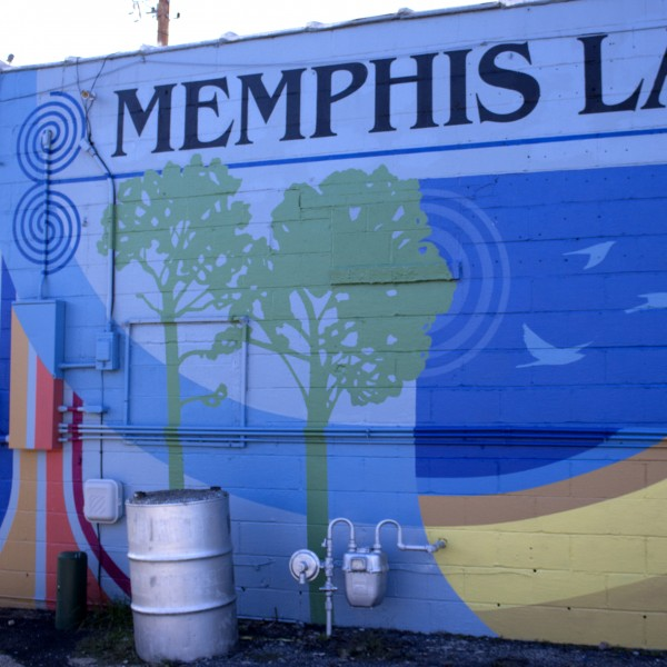 Memphis Laminating Company Mural