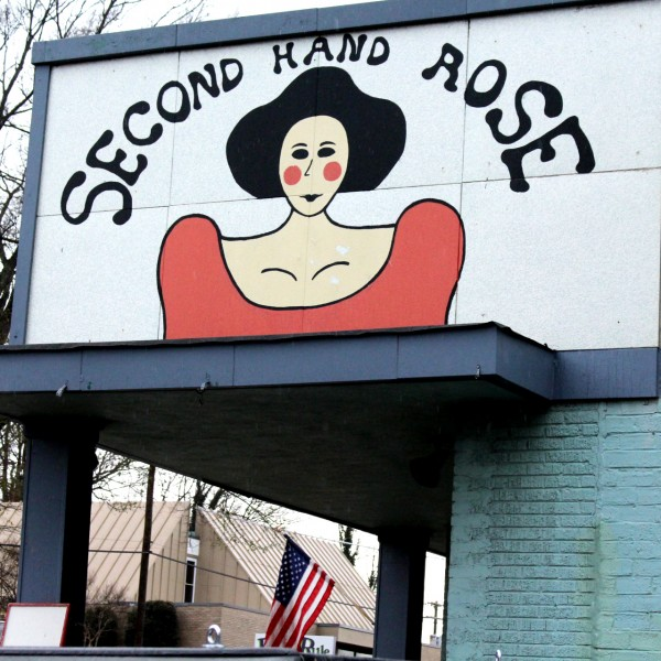 Second Hand Rose Mural