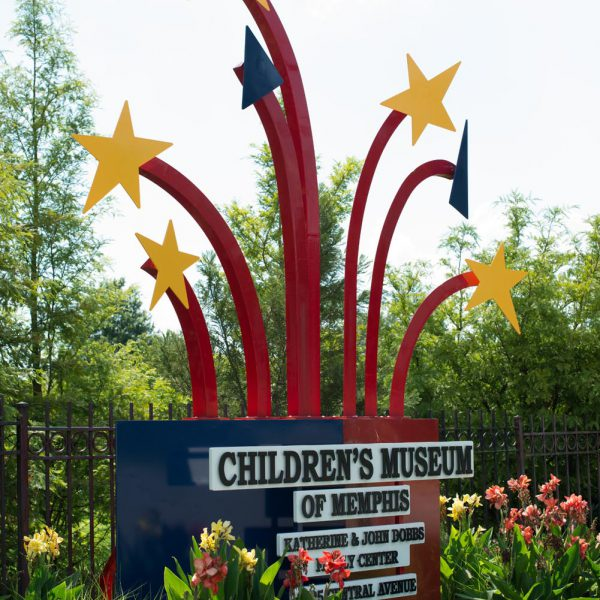 Children's Museum of Memphis Sign