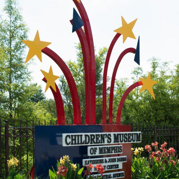 Children's Museum of Memphis Sign