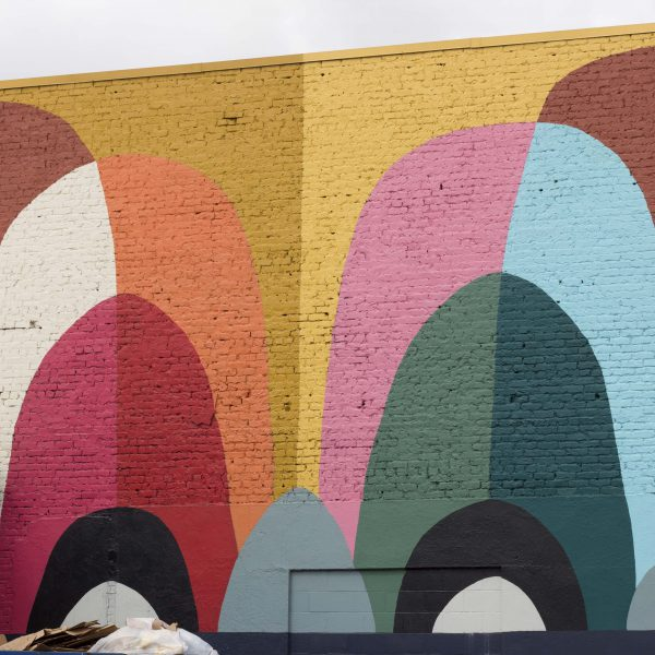 Colorful Eyes Mural- Edge District