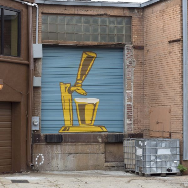 Edge Garage Murals- High Cotton Brewery