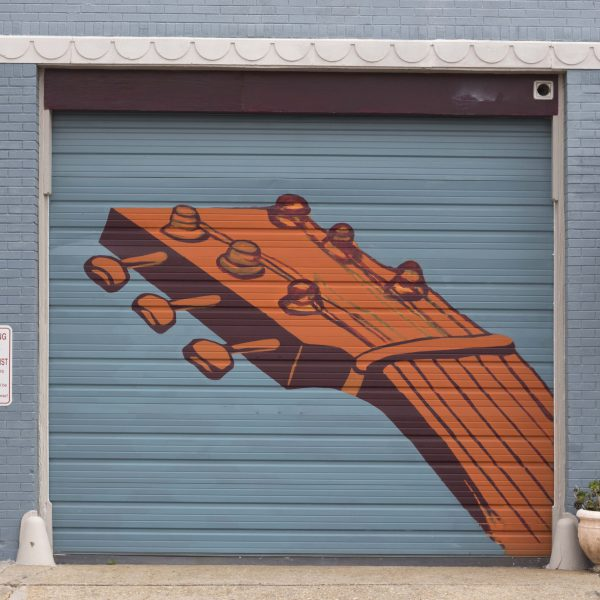 Edge Garage Murals- Guitar