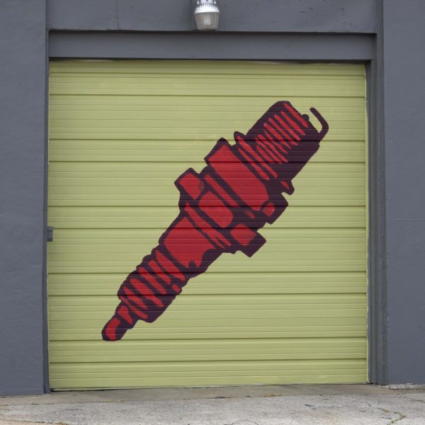 Edge Garage Murals- Screw