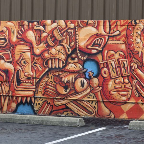 Central Exchange Parking Lot Mural