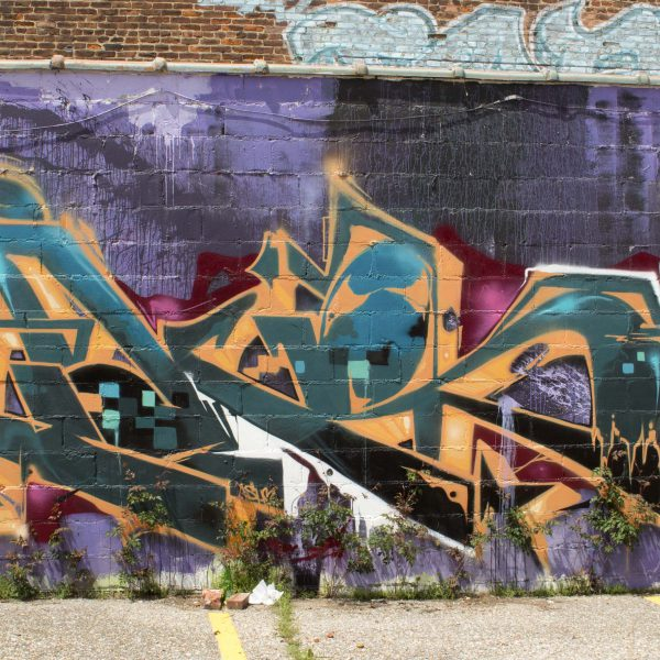 Purple Graffiti