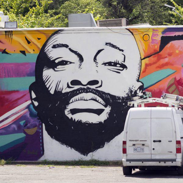 Isaac Hayes Mural