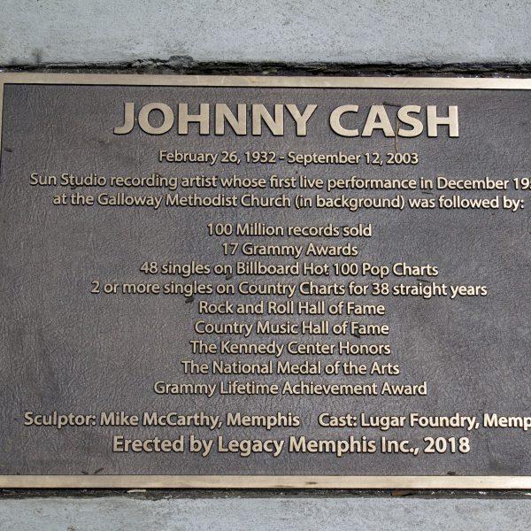 Johnny Cash Statue