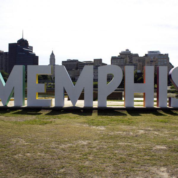 Memphis Bicentennial Sign