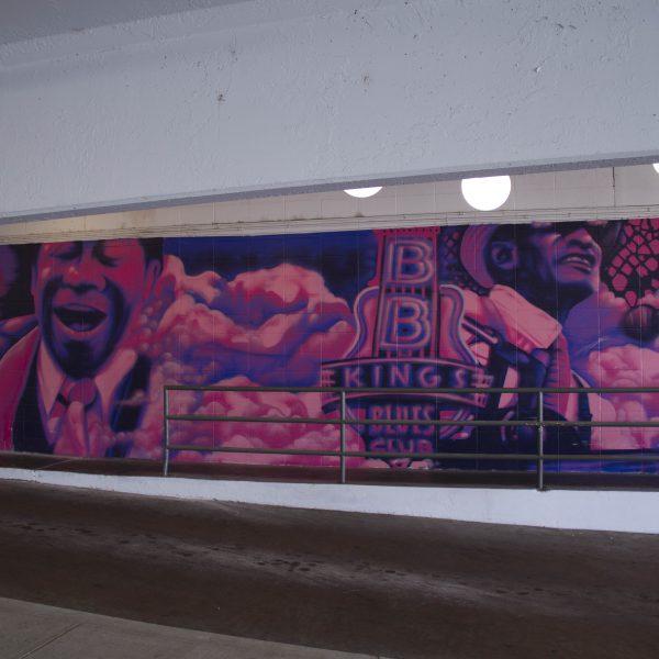 Hotel Indigo Blues Mural