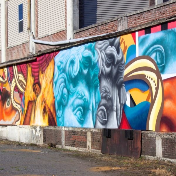 Nosey42 Downtown Mural