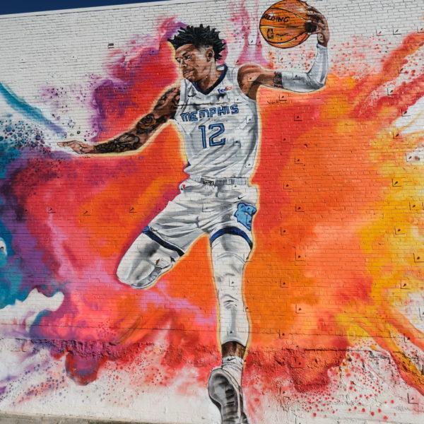 Ja Morant Mural